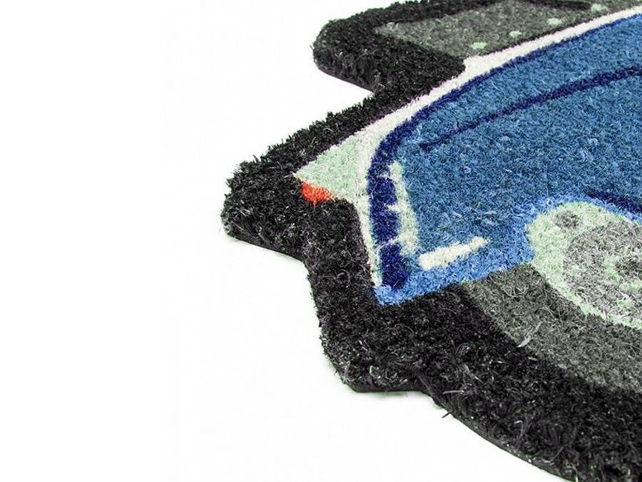 Forme Fußmatte (für Haustür) -LAMBRETTA- blau Artikelnr. LADM04