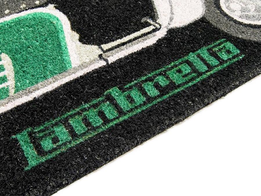 Forme Fußmatte (für Haustür) -LAMBRETTA- grün Artikelnr. LADM03