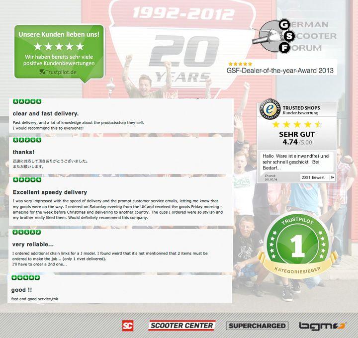Best Scootershop Vespa Lambretta