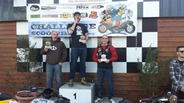 Podium C3-1: 1st Benjamin Robillard , 2nd Stephan Barbot , 3rd Cyril Pasquier