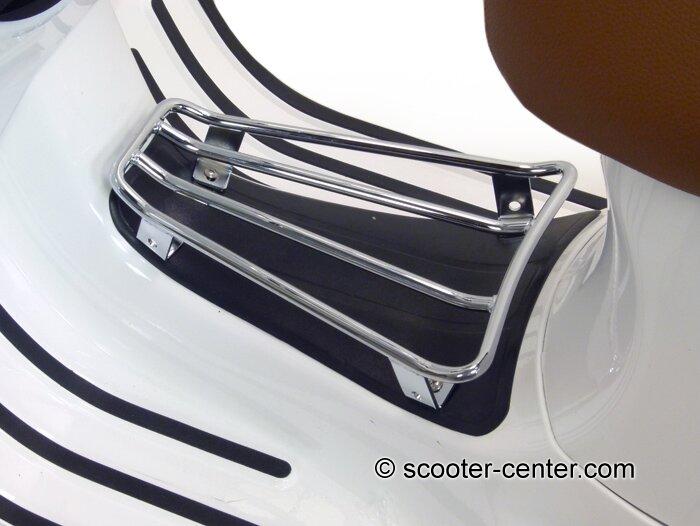 Gepäckträger Durchstieg -MOTO NOSTRA- Vespa GTS, GTV, GTL, GT - chrom Artikelnr. 3332172