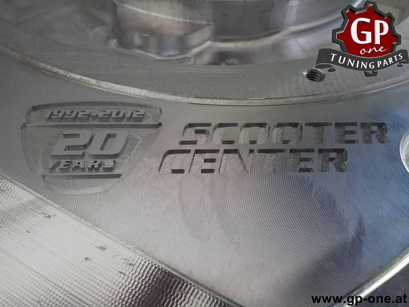 CNC Motorgehäuse Vespa Smallframe