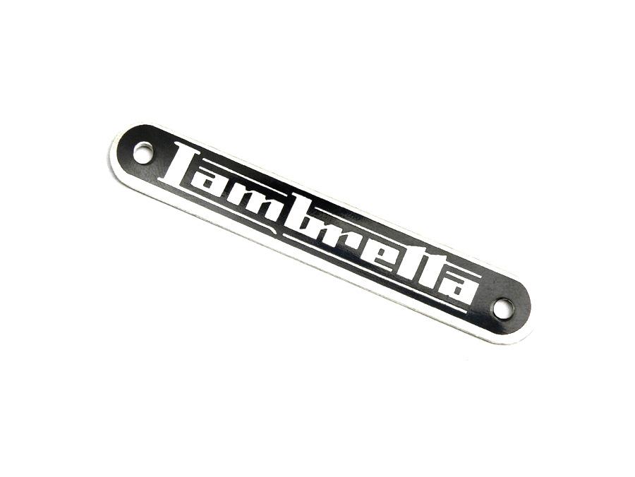 Schriftzug Sitzbank -LAMBRETTA- Lambretta - DL, GP Artikelnr. 8050121