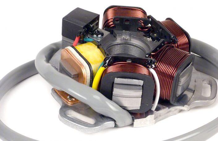 Zündung -BGM PRO Grundplatte HP V4.0 AC- Lambretta elektronische Zündung Artikelnr. 8030572