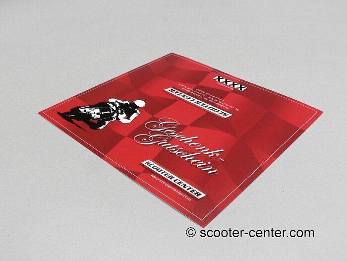 Scooter Center GmbH Gutschein Geschenk Idee - Gutscheine