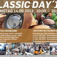 Classic Day 2013 Vespa Lambretta