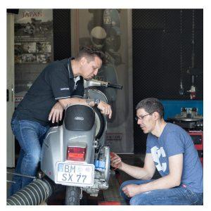Wir sind die Motorroller Spezialisten