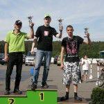 Rollerrennen Sachsenring Gewinner Thomas Heck für SCOOTER CENTER
