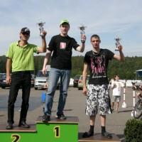 Rollerrennen Sachsenring Gewinner Thomas Heck f?r SCOOTER CENTER