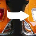 Vespa S LED- Rücklicht weiß